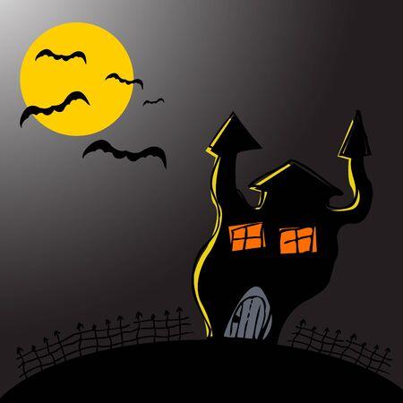 Halloween design. Vector