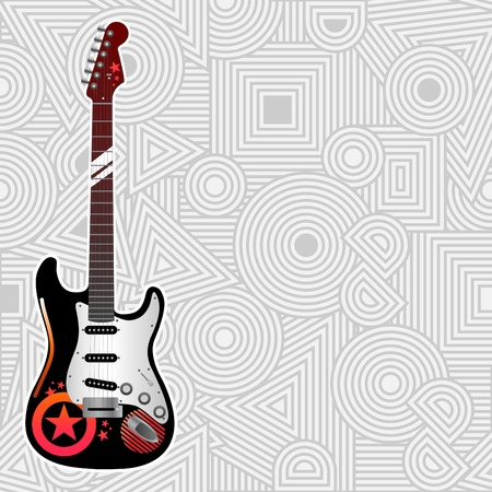 Guitar Stock Vector - 11131258