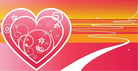 truelove: vettoriale cuore