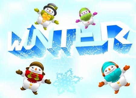 winter theme Stock Vector - 11298895