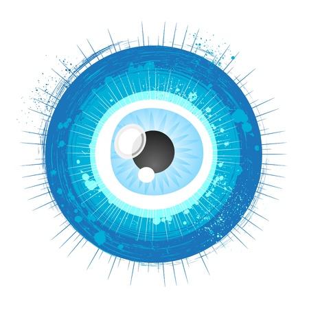 eye illustration Stock Vector - 11298898