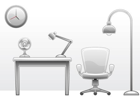 unit�: mobilier de bureau Illustration