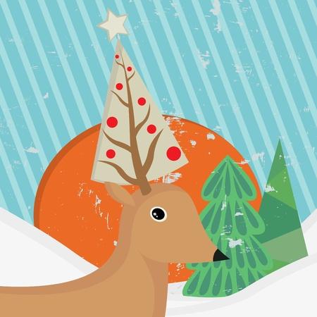 christmas characters: christmas deer