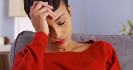 desolaci�n: Mujer que sufre de ansiedad
