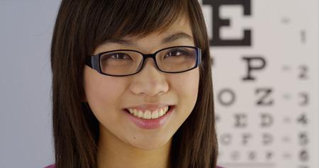 Woman optometrist photo