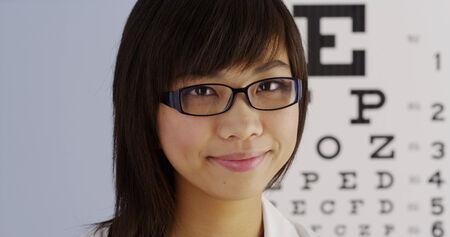 Chinese optometrist photo