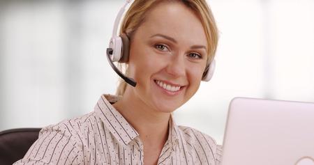 customer service representative: Friendly customer service representative
