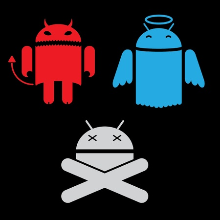 android different versions of the appearance system