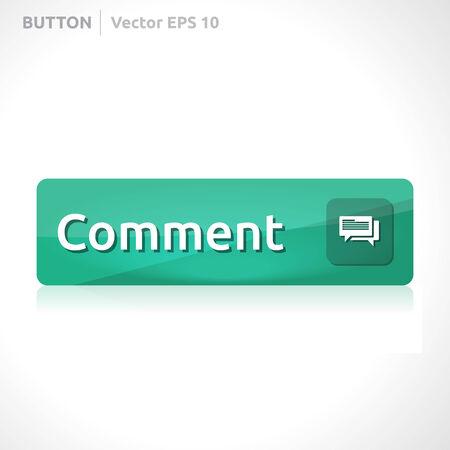 komentář: Tlačítko Komentář šablona