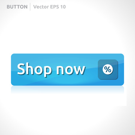 blue button: Shop now button template