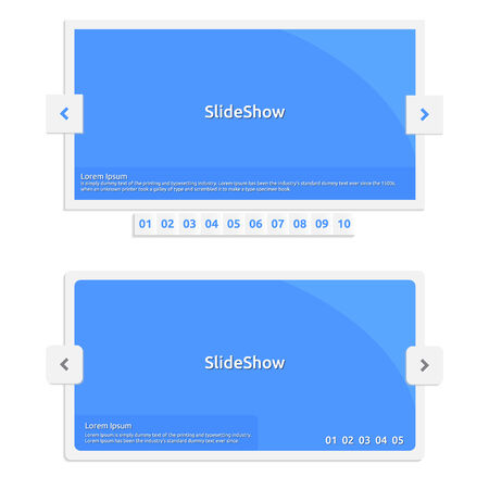 slideshow: Website Slideshow template