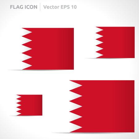 flag template: Bahrain flag template symbol design