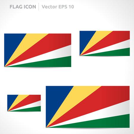 flag template: Seychelles flag template symbol design
