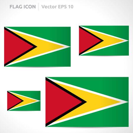 flag template: Guyana flag template