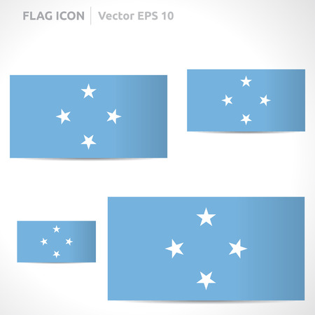 flag template: Federated States of Micronesia flag template