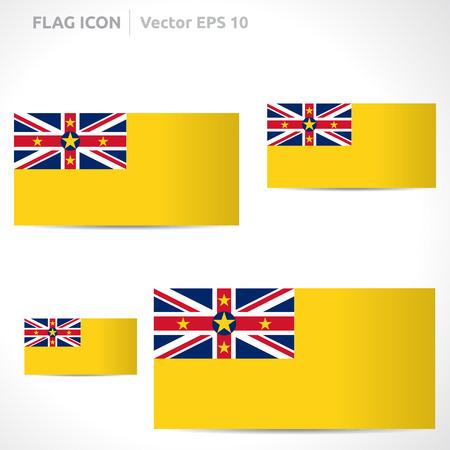 flag template: Niue flag template
