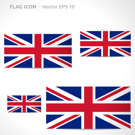 union: United Kingdom flag template Illustration