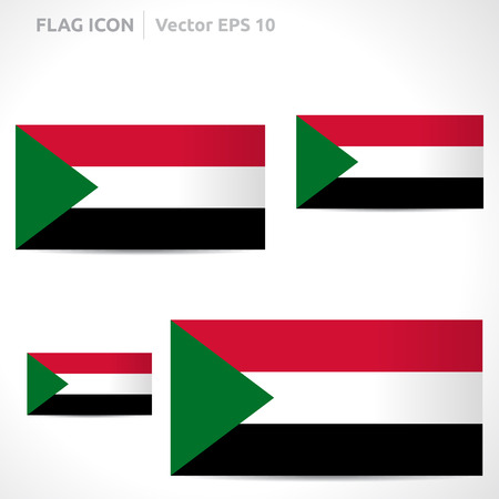 flag template: Sudan flag template
