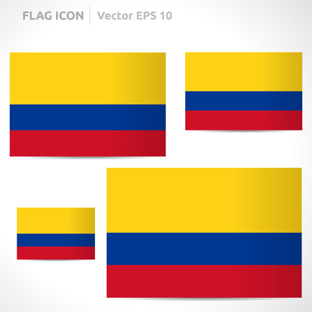 flag template: Colombia flag template