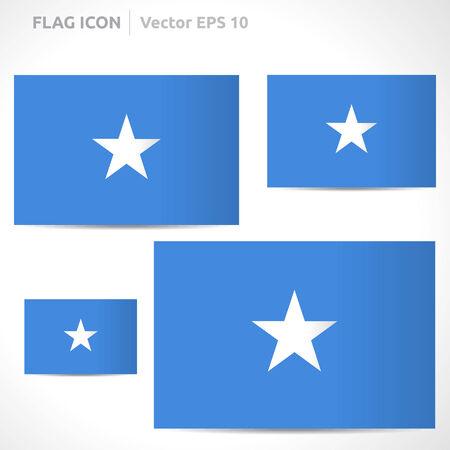 somalia: Somalia flag template  Illustration