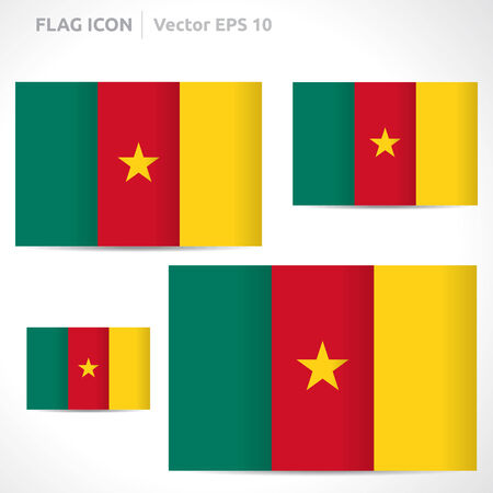 cameroon: Cameroon flag template
