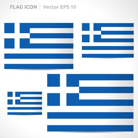flag template: Greece flag template