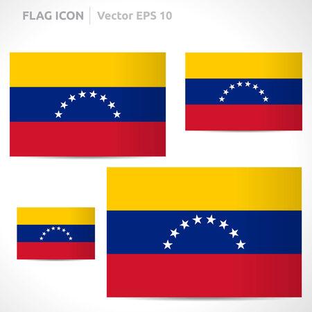 flag template: Venezuela flag template