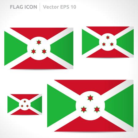 flag template: Burundi flag template  Illustration