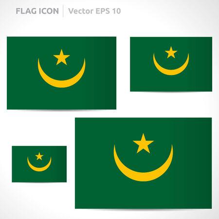 mauritania: Mauritania flag template