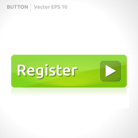 Register button template Banco de Imagens - 29647258