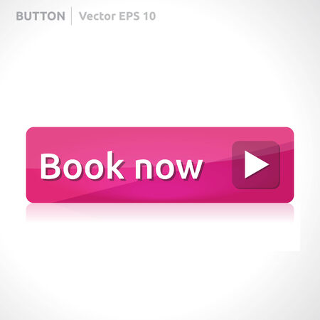 reservation: Book now button template  Illustration