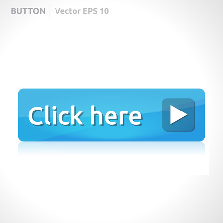 klik: Klik hier button template Stock Illustratie