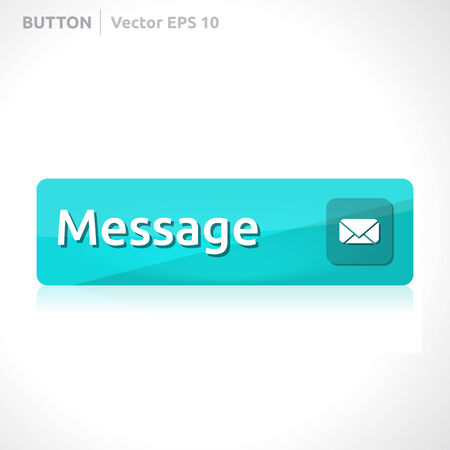 Message button template Stock Illustratie