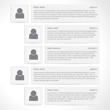 comments: Website comments template