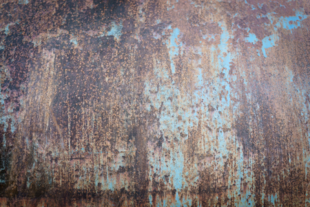 Old rusty steel and corrosion paint texture for background design.