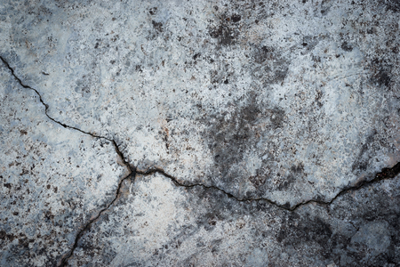 Old grey concrete texture with cracked for background design Reklamní fotografie