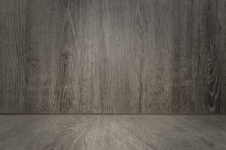 Empty wooden background used for montage or display your products