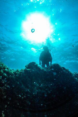 Underwater Silhouette