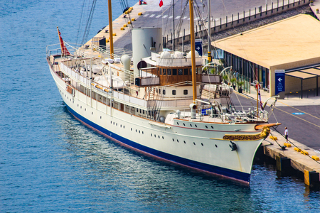 A classic yacht