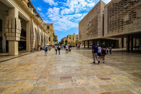 Street Scene, Valletta, Malta