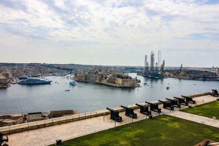 Grand Harbour and Drydock Редакционное