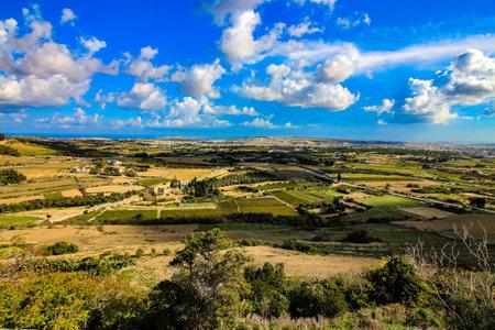 The Maltese Landscape Редакционное