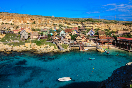 Sweethaven, the Popeye film set.