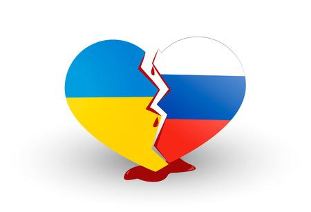 politics: Heart broken Ukrainian war and politics