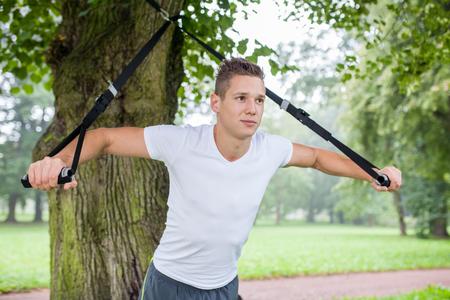 la práctica con el entrenador honda en parque