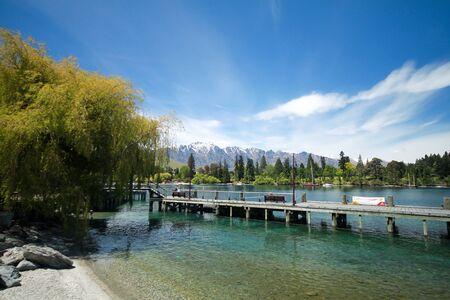 lake shore: beautiful scenery of lake shore Editorial