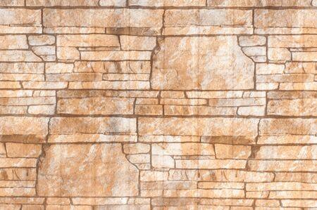 stack stone: Stack stone walls Stock Photo