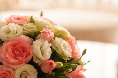 curare teneramente: un mazzo di fiori Archivio Fotografico