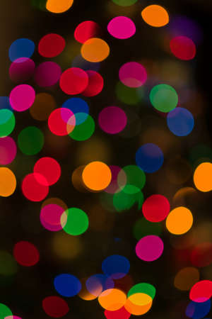 phillip rubino: Artistic Style Defocused Abstract Background of Colored Lights Stock Photo