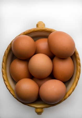 phillip rubino: Bowl of Brown Eggs